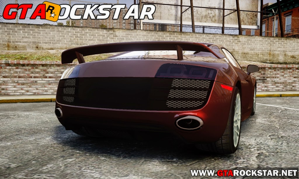 GTA IV - Audi R8 Rotiform BLQ 2010