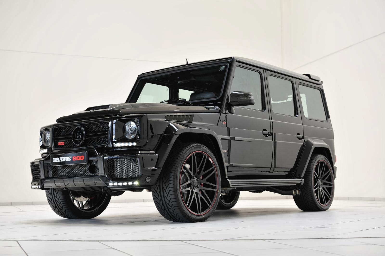 800hp Mercedes GWagon iBusiness by Brabus