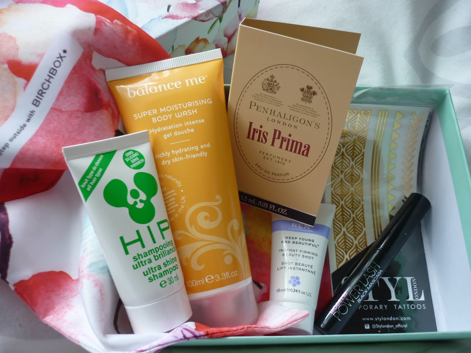 Inside June Birchbox