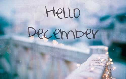welcome hello december please good to me