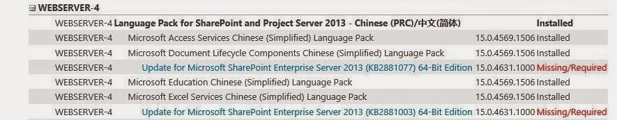 Missing Language Pack