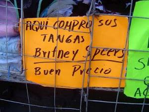 "Aquí compró sus tangas ""Britney Speers"""