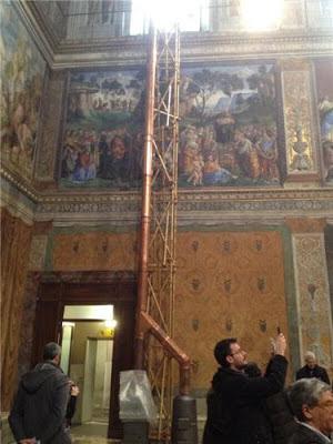 Sistine Chapel conclave stoves