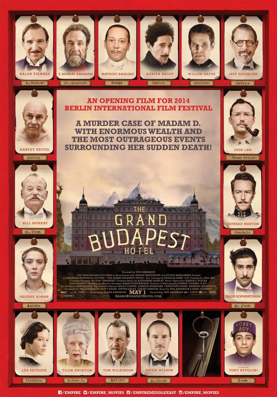 Comentario sobre la película The Grand Budapest Hotel