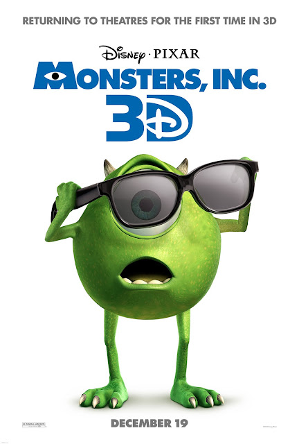 Poster Monster Inc. 3D