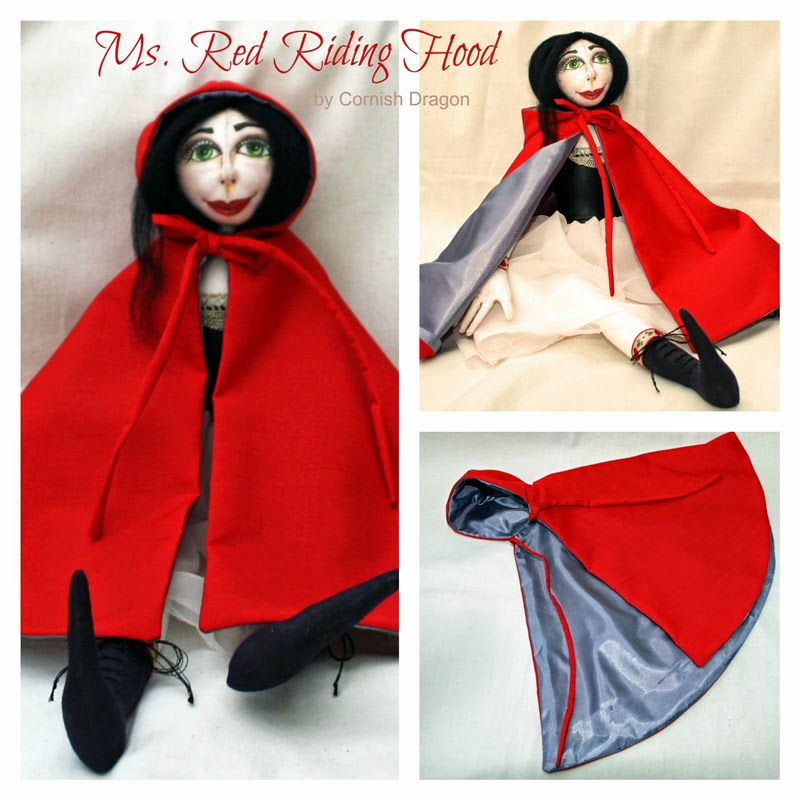 Red Riding Hood Art Doll