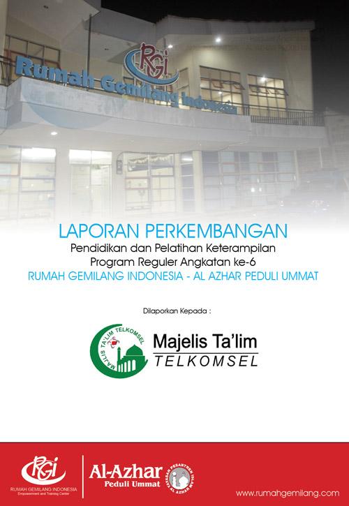 Progress Report RGI untuk Majlis Ta'lim Telkomsel