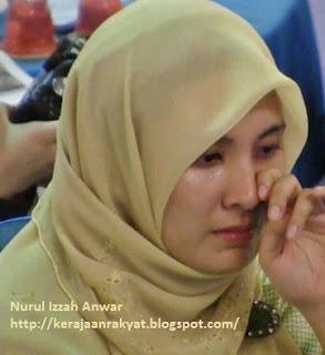 Nurul Izzah Anwar Jangan kau tangisi