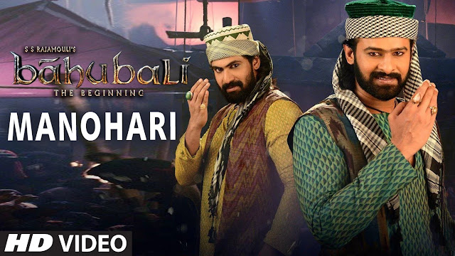 Manohari Full‬ Video Song | Baahubali | Prabhas | Rana Daggubati