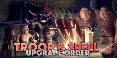 Upgrade clash of clans