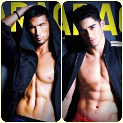 Who's hotter? Anton del Rosario and Chris Banchero on Garage Magazine June 2013 Cover