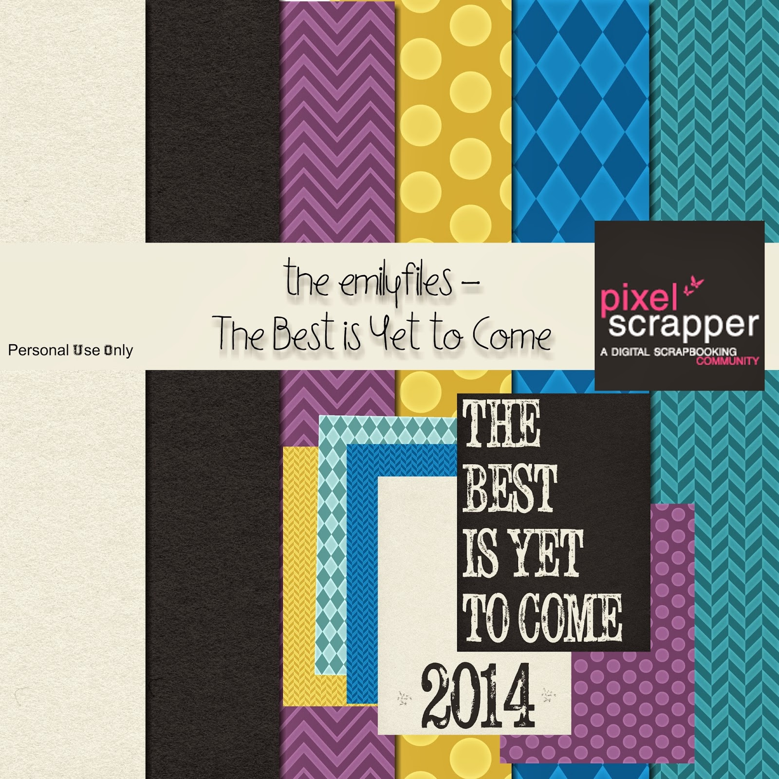 The Best is Yet to Come Digital Scrapbooking Kit