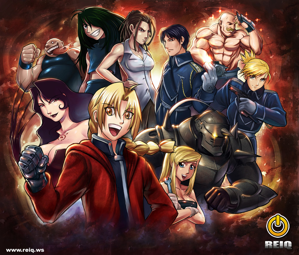 Full Metal Alchemist HD & Widescreen Wallpaper 0.02636129096439