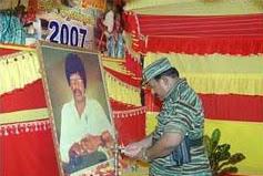 தலீபனுக்குத் தலைவர் பிரபாகரன் அஞ்சலி - Leader Prapakaran Anjalai to Dhileepan