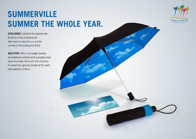 SummerVille Resort: Umbrella
