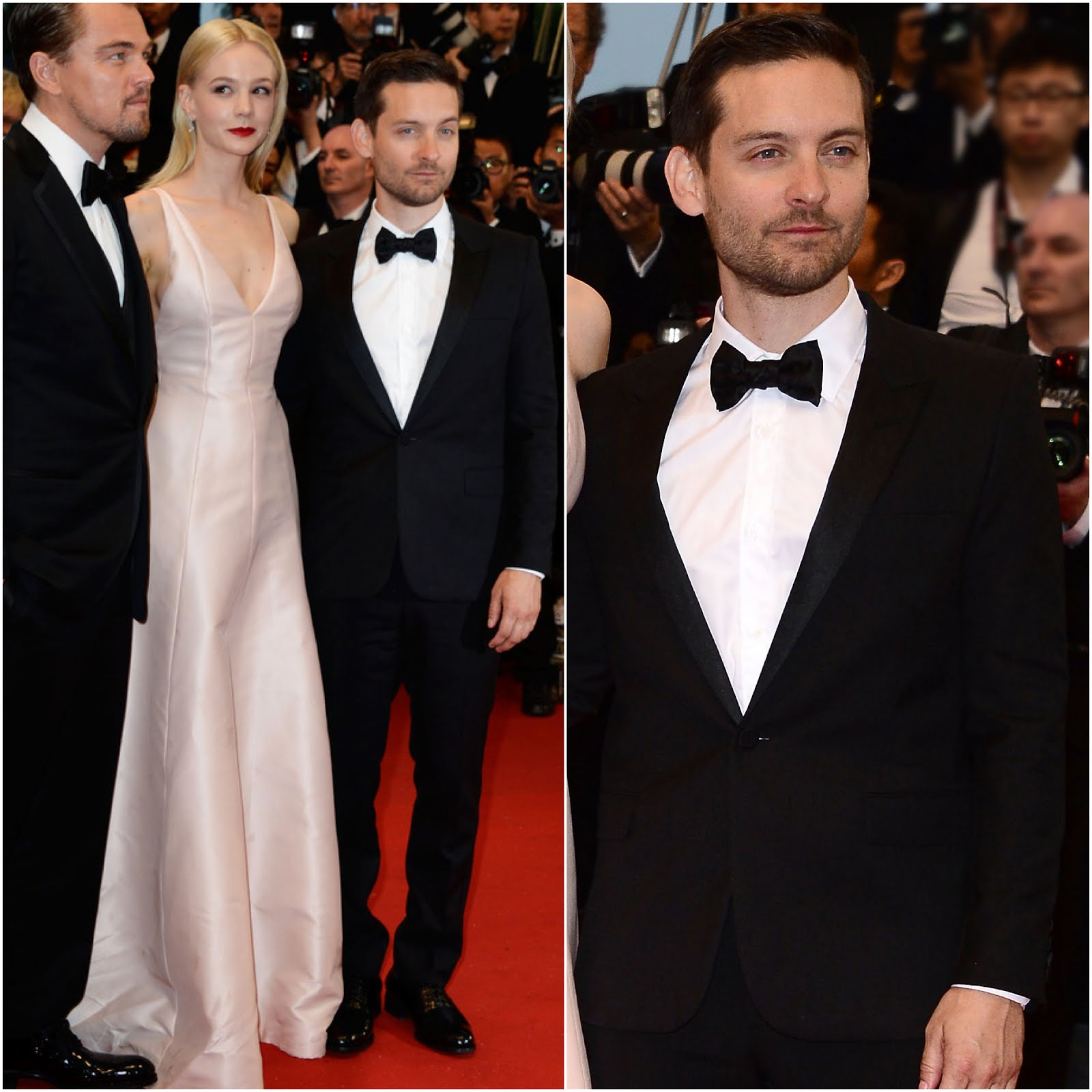 00O00 Menswear Blog Tobey Maguire in YSL Saint Laurent by Hedi Slimane - 'The Great Gatsby' Premiere, 66th Annual Cannes Film Festival