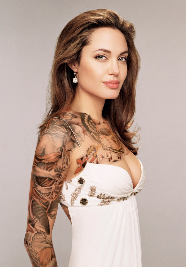 Tattoos On Breast Of Women Best Wallpapers