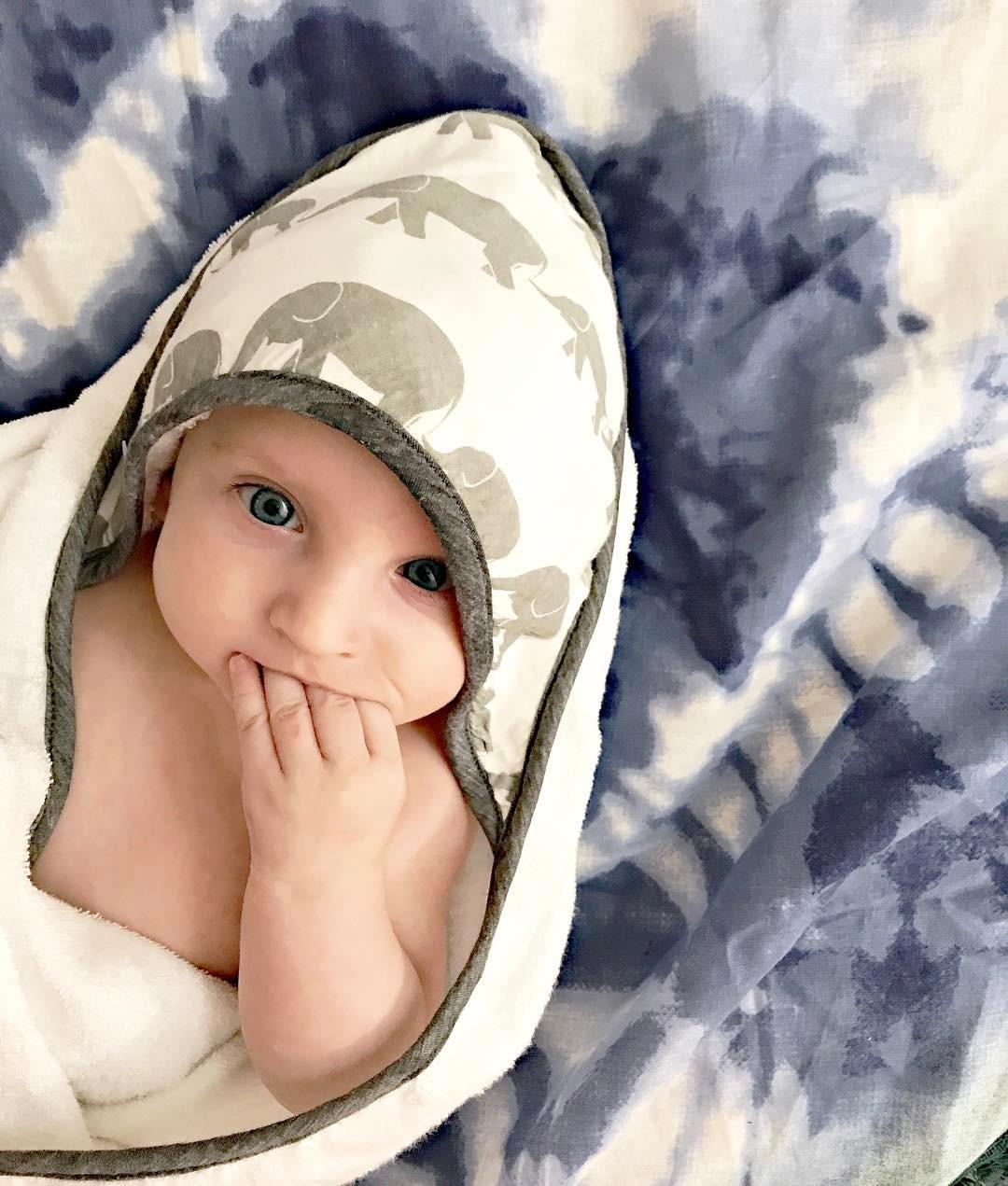 """Want This Cute Baby Bamboo Towel? Use """"48JBI6VR"""" at checkout!"""