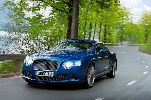 2012 Bentley Continental GT Speed Front Exterior