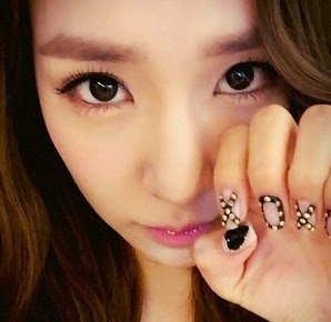 Check out snsd tiffanys new nail art wonderful generation snsd tiffany nail art prinsesfo Image collections