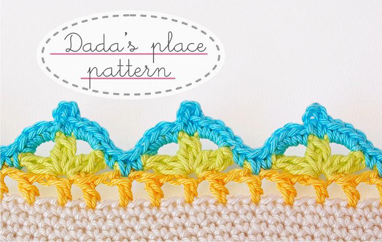 Crochet Border Chart Dadas Place Bloglovin