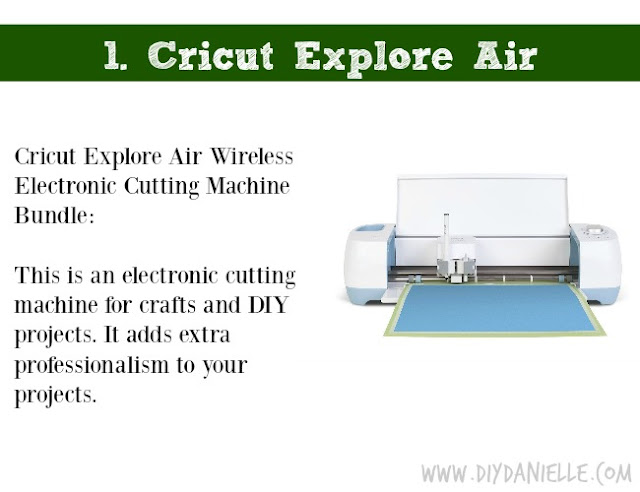 Holiday DIY Gift Guide: Cricut Explore Air
