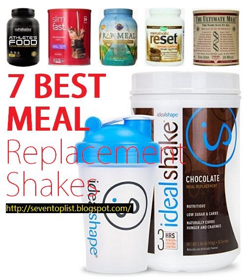 7 Best Meal Replacement Shakes