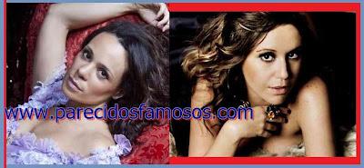 Actriz Brasileña Vanessa Gerbelli y Maria Rita