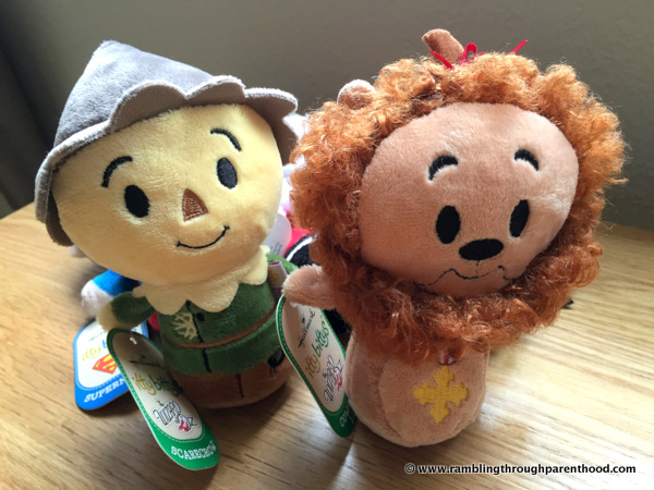 The Lion and the Scarecrow from the Wizard of Oz