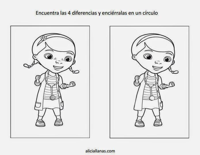 Maestra de Primaria: Busca las diferencias en estos dibujos imprimibles