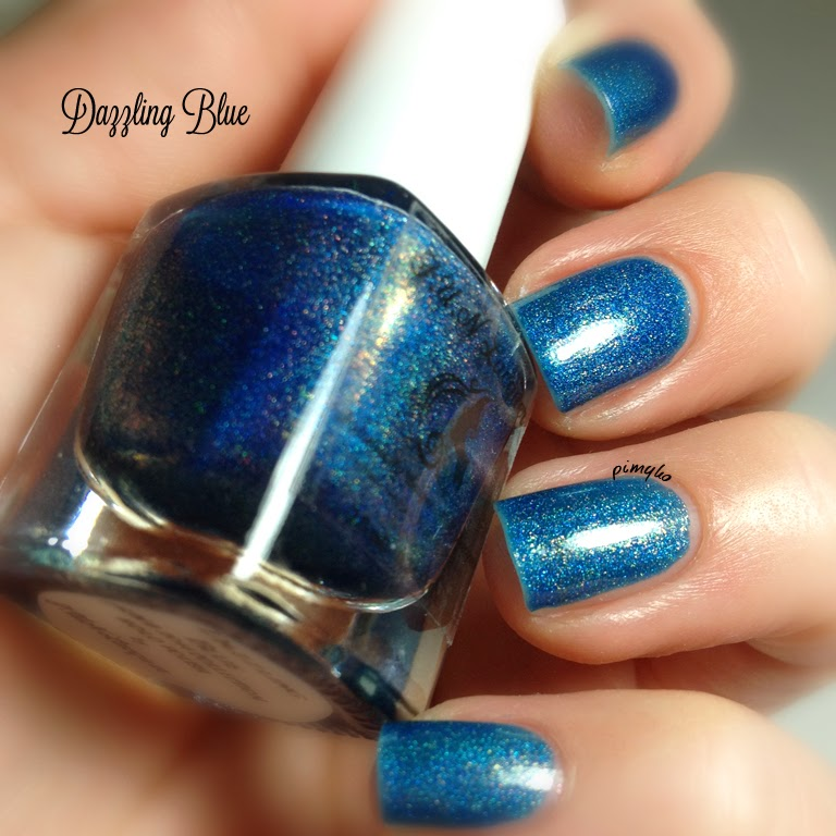 pimyko Spring 2014 collection (dazzling blue) by Fun Lacquer