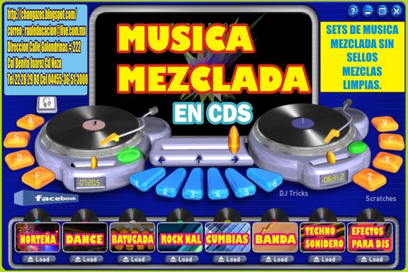 COLECCION DE CDS MEZCLADOS