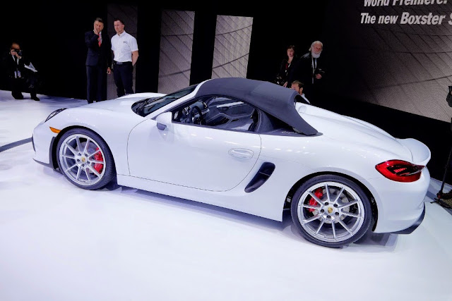 Porsche Boxster Spyder Specs and Performance
