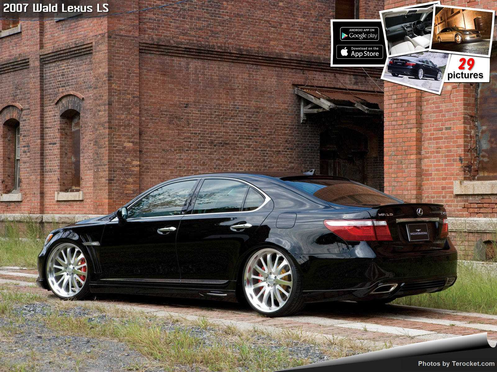 Hình ảnh xe độ Wald Lexus LS 2007 & nội ngoại thất