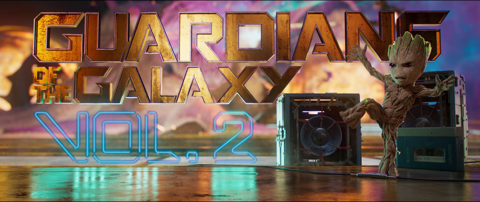 Guardianes de la galaxia Vol. 2 (2017) HD 1080p Latino - Ingles captura 3
