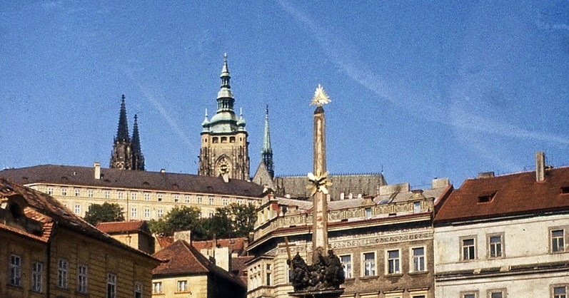 Color Photographs of Prague in the Late 1970's