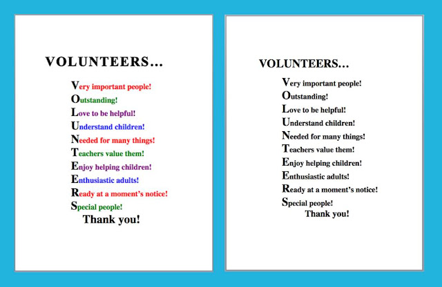 Volunteer Thanks Poems And Quotes. QuotesGram