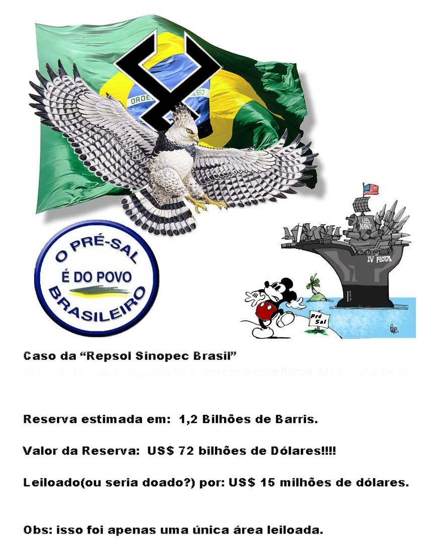 Os Criminosos Leilões da ANP - Roubando o Futuro dos Brasileiros.