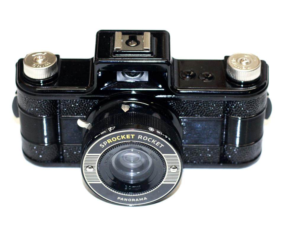 Sprocket Rocket Camera : Buy lomography sprocket rocket black film cameras