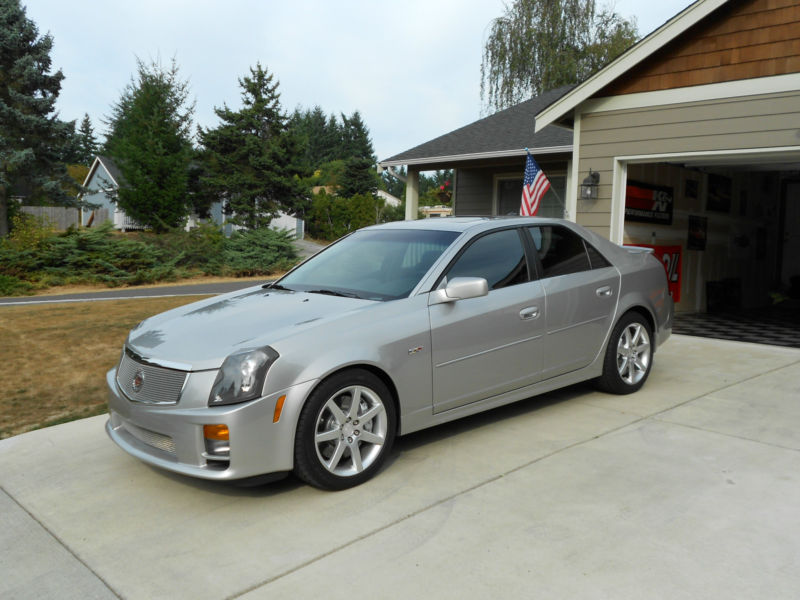 daily turismo 20k 2004 cadillac cts v w 10k original miles. Black Bedroom Furniture Sets. Home Design Ideas