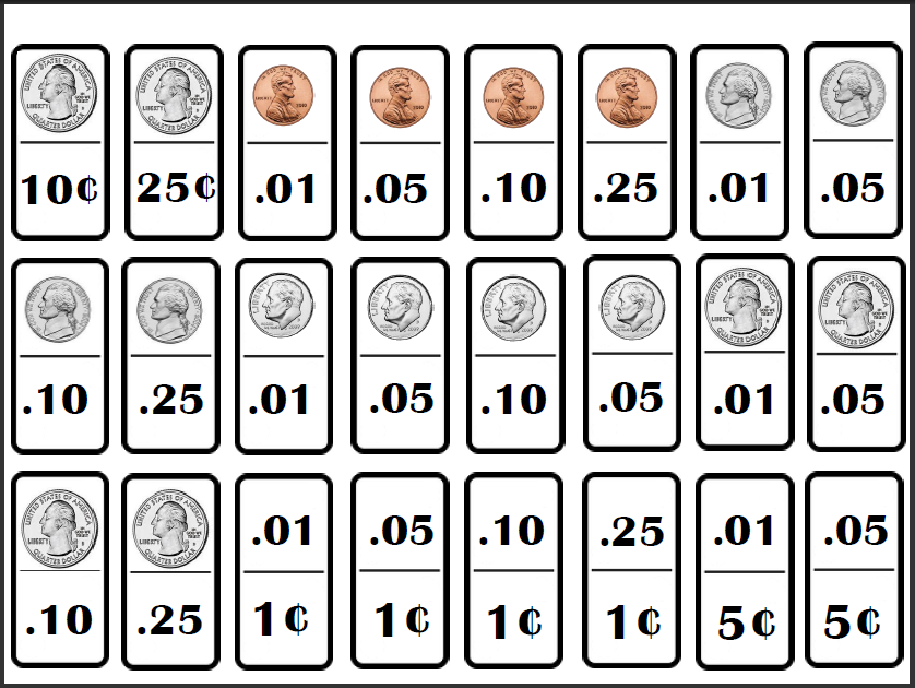 Empowered By THEM: Domino Money Set - Coins
