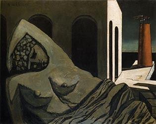L'estàtua silent, 1913 (Giorgio de Chirico)