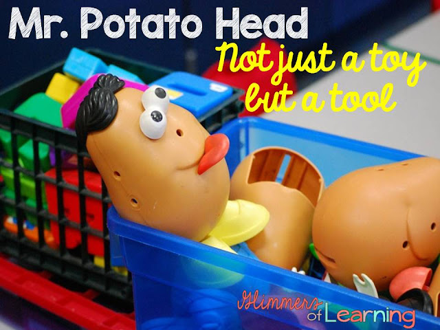 How to use Mr. Potato Head as a learning tool