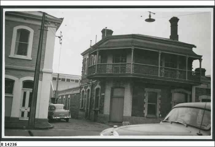 The haunts of adelaide history mystery and the for Golden rule garage door
