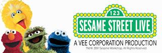 Sesame Street Live – Feb 5th 2012 / Kent trip