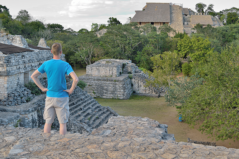 Le site de Ek' Balam près de Valladolid