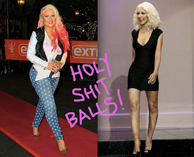 Christina Aguilera Weight Loss 2013