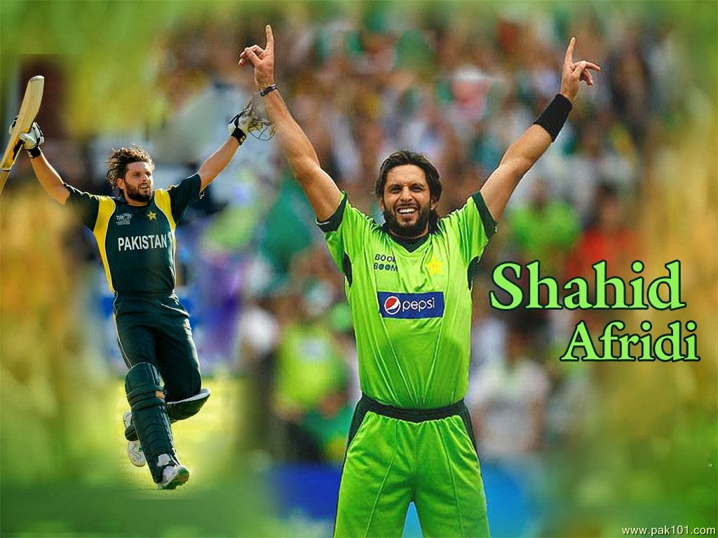 Shahid Afridi Pictures Awesome Photos