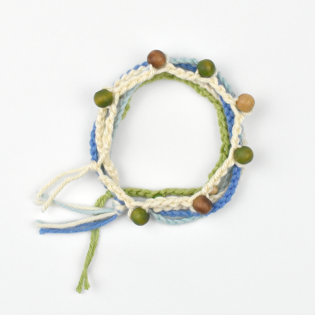 Crochet for Beginners - Learn How to Make a Bracelet