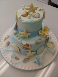 Beach Themed 2 day cake class.